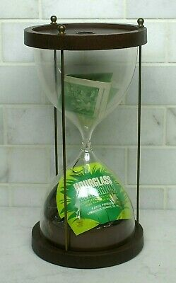 Scarce Vintage 1970's Patio Products Hourglass Terrarium Kit & Orig (1970s Products)