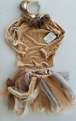 Pottery Barn Kids Lion Tutu Halloween Costume 7 - 8 Years  #2935
