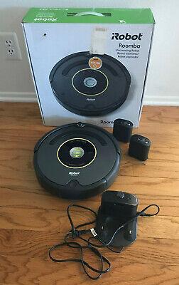 iRobot Roomba 652 Robot Vacuum Lithium Battery w/2 Virtual Walls FREE SHIP](irobot roomba 652 robotic vacuum cleaner)