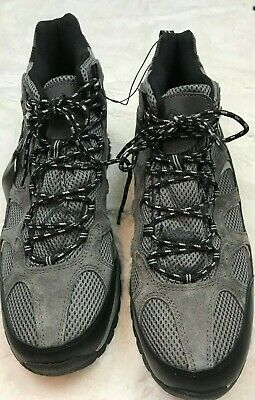 NWT Khombu Men's Tyler Boot Gray Suede All Terrain Hiking Boots Tactical Size 13 Grey Hiking Boots