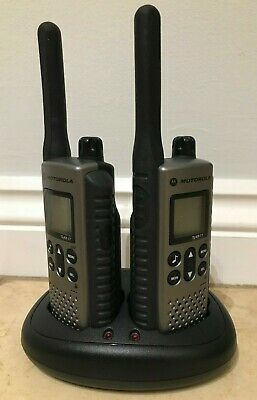 Motorola Two Way Radio TLKR T7 10km Range Rugged Design Very Good Condition