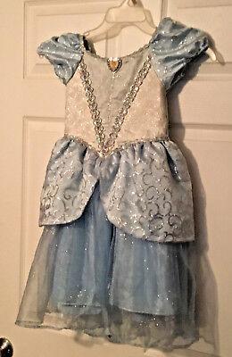PRINCESS CINDERELLA COSTUME DRESS UP SIZE XS FROM DISNEYLAND EUC (Kid From Up Costume)