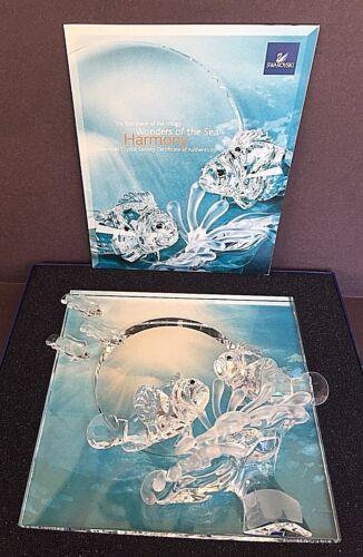 "Swarovski ""HARMONY"" [Clear] 2007 Annual Wonders of the Sea Crystal Ornament"