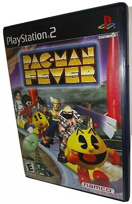 Pac-Man Fever PS2 Videogame ; Complete w/ Manual Tested; Pacman ; 4 Player Party