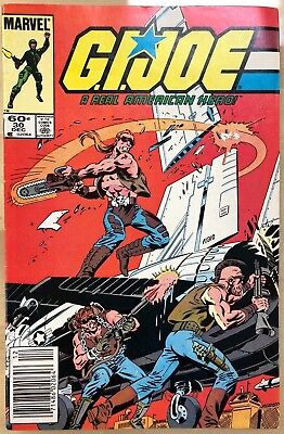 G.I. JOE #30 (1984) Marvel Comics VG+/FINE-