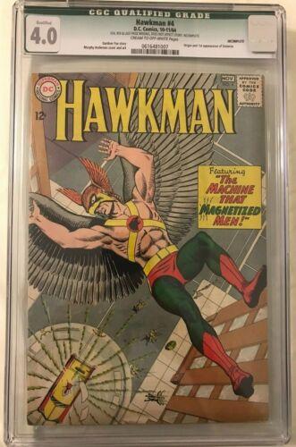 Hawkman #4 CGC 4.0 Qualified  1964 1st app. and origin Zatanna