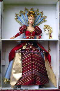 Venetian Opulence Masquerade Gala Collection Fantasy Barbie Doll