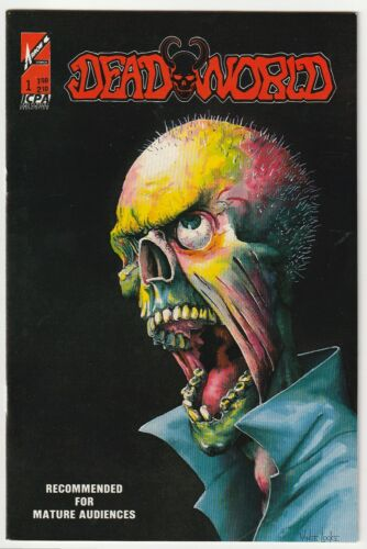 Deadworld #1 - Arrow Comics 1987 -  Vince Locke & Stuart Kerr D2