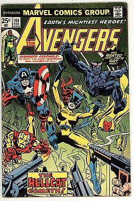 Avengers 144 - 1st Hellcat - Jessica Jones -  5.0 VG/FN