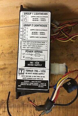 Tomar Neobe 786-1228 Wp. 65 Watt Strobe Power Supply
