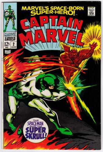 Captain Marvel # 2 (1968) VF+