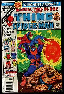 Marvel Two-In-One Annual #2 Fine