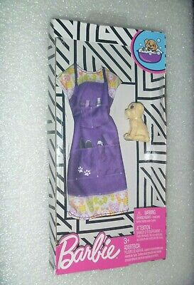 New Mattel Groomers Outfit For Barbie or SSF~*~With a Puppy Dog