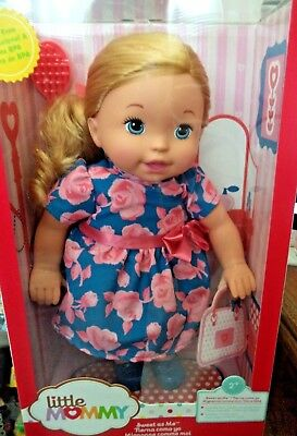 FISHER PRICE LITTLE MOMMY SWEET AS ME ROSY DRESS DOLL FLB81 *NEW*