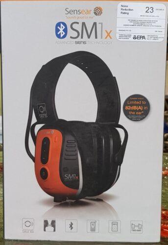 Sensear SM1x Bluetooth Industrial Helmet-Mounted Earmuffs, NEW