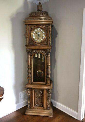 """Gazo """"San Luis Rey"""" Grandfather Clock, Rare, Circa 1977"""