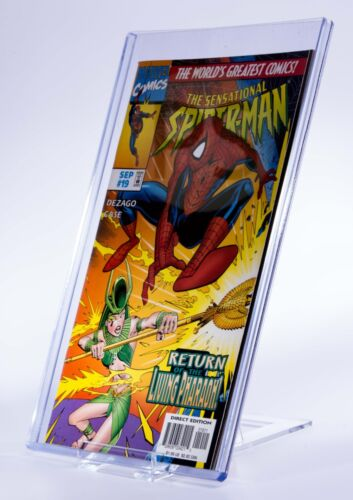 10 x Comic Book Adjustable Display Stand : Comic Sleeves, Comic Boards etc