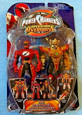 Power Rangers Operation Overdrive Red Sentinel Zord Ranger Action Figure - (New Power Rangers Operation Overdrive)