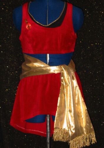 CUSTOM-MADE Five Star TREK Uniform COSTUME Dress Womans Any Size