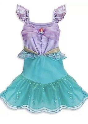 Disney Store The Little Mermaid Ariel Costume Dress Up Size 3-6 Months  (Little Mermaid Baby Kostüme)