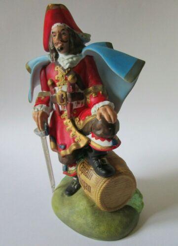 """Vtg Captain Morgan Advertising Promo Spiced Rum 10 1/2"""" Ceramic Statue/Figurine"""