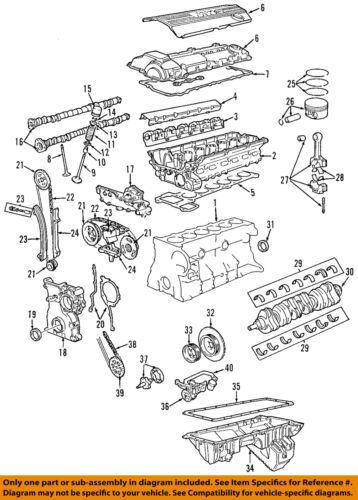 BMW OEM 97-98 Z3-Engine Piston Ring 11259070152