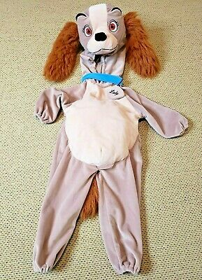 Baby And Dog Halloween Costumes (Disney Dog Lady Infant Costume 18-24 months Lady and the Tramp Halloween)