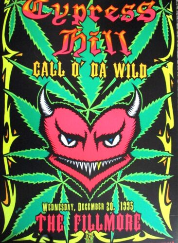 CYPRESS HILL FILLMORE POSTER Call O