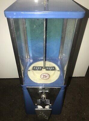 OAK Mfg Bulk Gum 25 Cent QUARTER Astro Vista 300 CANDY Vending Machine WORKING