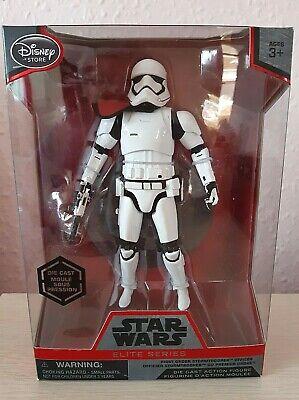 Disney Store  Star Wars Elite Series  First Order Stormtrooper Officer Die Cast
