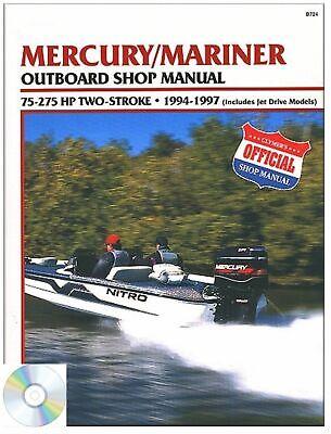 Mercury Mariner 75-275 HP 2-Stroke Repair Manual 1994-1997, Outboard