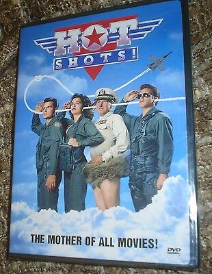 Hot Shots! (DVD, 2002), NEW & SEALED, REGION 1, CHARLIE SHEEN, CARY ELWES,FUNNY! (Hot Funny Movies)