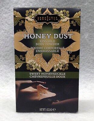 Kama Sutra Sweet Honeysuckle Honey (Kama Sutra Honey Dust Kissable Body Powder Sweet Honeysuckle 1oz Tickle)