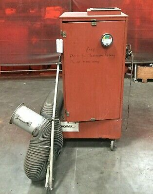 Powermatic Airomax Portable Dustfume Collector Model Rm2502 120vac 1 Ph