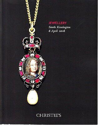 Jewellery South Kensington April 6 2016 Christie's Auction Catalog