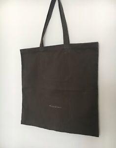 Rick Owens Mainline Canvas Tote Bag