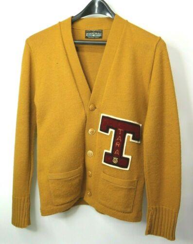 Vintage Band Letterman Sweater Cardigan Tara High School Baton Rouge