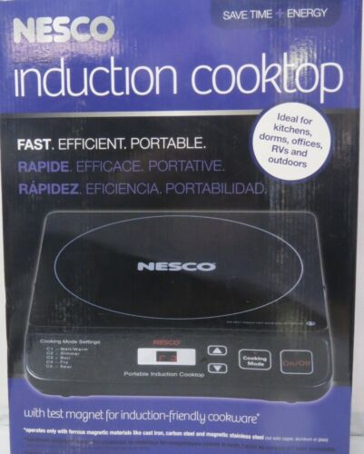 Nesco Portable Induction Cooktop Black PIC14
