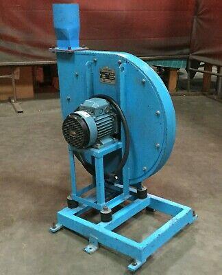 Gilberti Azzini Industrial Blower Ventilatore Ape451 W Abb 1.5 Hp Motor 480y