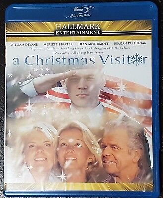 A Christmas Visitor Blu-ray Disc Hallmark Entertainment Holiday Movie OOP ()