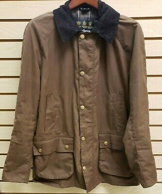 Barbour Ashby Jacket Men's Tan Brown Size L