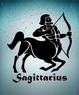 Sticker decal zodiac astrological astrology sign transparent archer sagittarius