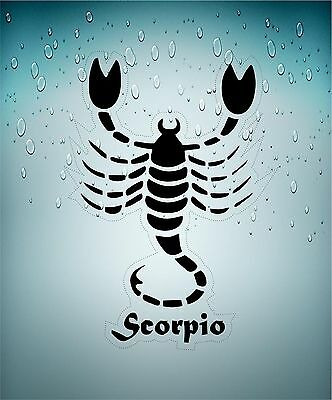 Sticker decal zodiac astrological astrology sign transparent scorpion scorpio