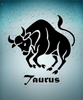 Sticker decal zodiac astrological astrology sign macbook transparent bull taurus