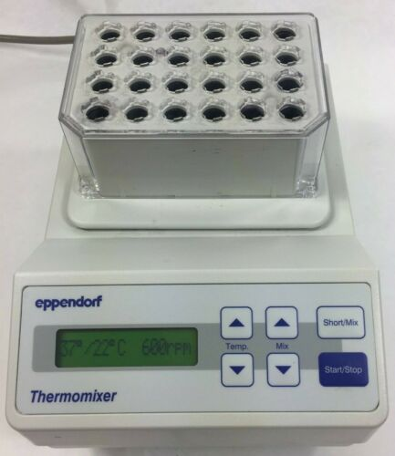 Eppendorf 5350 Thermomixer Shaker w/ 1.5 mL Incubator Block, Warranty!