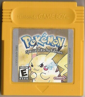 POKEMON YELLOW PIKACHU EDITION, NINTENDO GAME BOY GAME, ORIGINAL