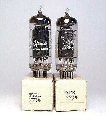 2x Hewlett Packard 1933-0005 / 15402123 Röhre 7734