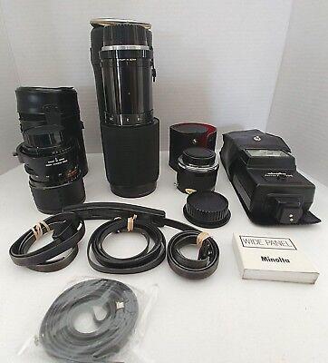 Винтажные Vintage Minolta camera lot