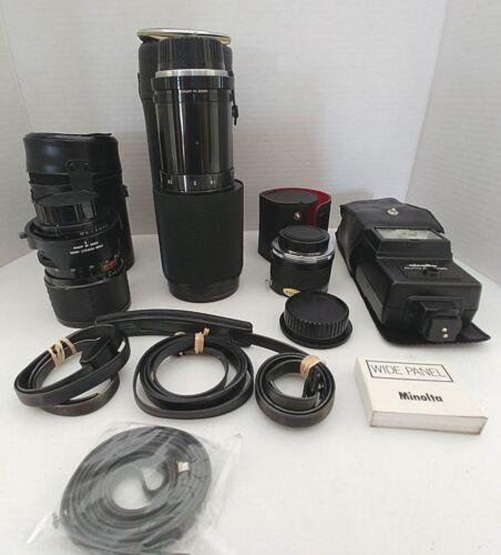 Vintage Minolta camera lot
