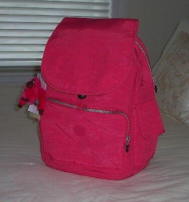 NWT Kipling RAVIER Backpack Vibrant Pink BP3872